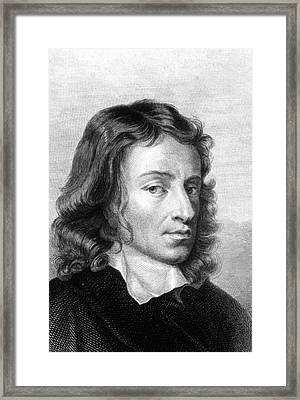 John Milton Framed Print by Collection Abecasis