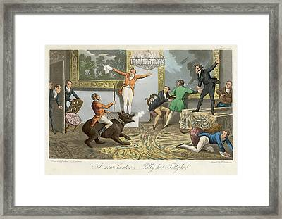 John Mytton English Eccentric Decides Framed Print