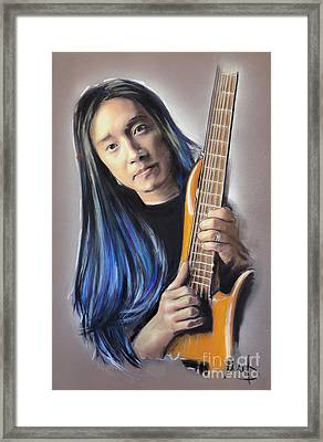John Myung Framed Print by Melanie D