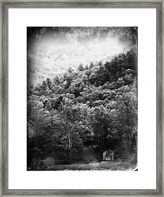 John Oliver's Cabin Framed Print