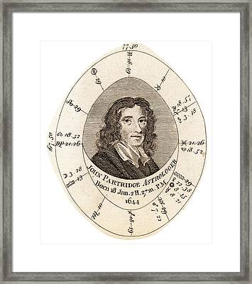 John Partridge Framed Print by Universal History Archive/uig