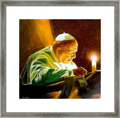 John Paul II Framed Print by Henryk Gorecki