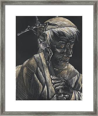 John Paul II Framed Print by Michelle Miller