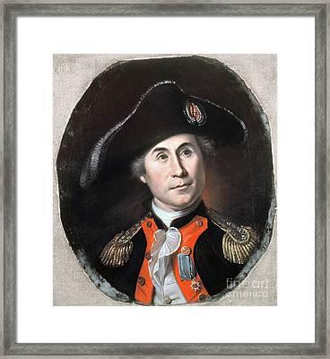 John Paul Jones Framed Print by Granger