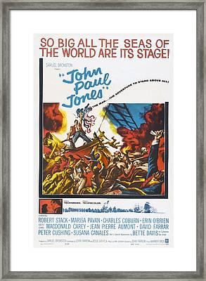 John Paul Jones, Us Poster Art, 1959 Framed Print