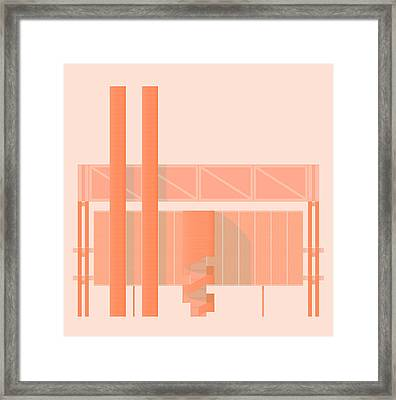 John Player Factory Framed Print by Peter Cassidy