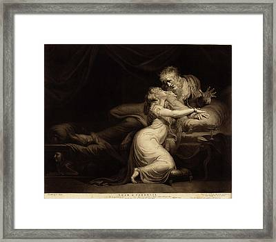John Raphael Smith After Henry Fuseli British Framed Print by Quint Lox