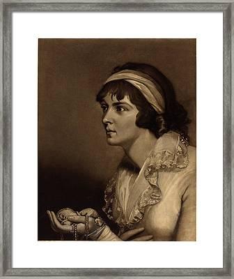 John Raphael Smith British, 1752 - 1812 Framed Print by Quint Lox