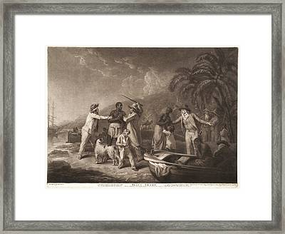 John Raphael Smith British English, 1751 - 1812 Framed Print by Litz Collection