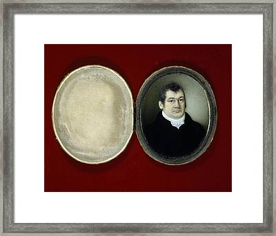 John Reeves, British Naturalist Framed Print by Science Photo Library