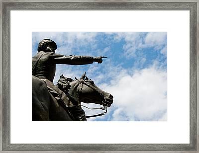 John Reynolds - Gettysburg General Framed Print