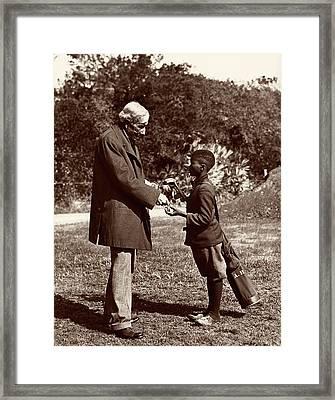 John Rockefeller Framed Print by American Philosophical Society