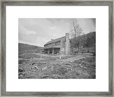 John Ross House Near Ringgold, Georgia Framed Print by Stocktrek Images