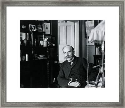 John Scott Haldane Framed Print by National Library Of Medicine