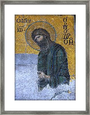 John The Baptist Framed Print by Stephen Stookey