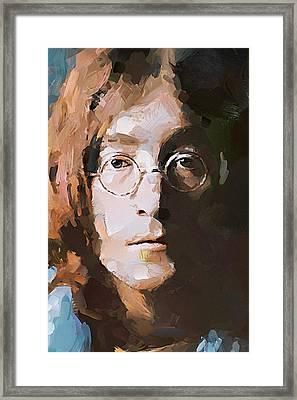 John The Beatles Framed Print