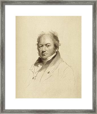 John Thomas Smith Framed Print by Middle Temple Library