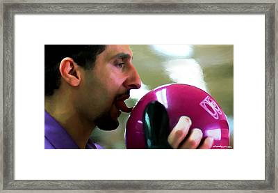 John Turturro @ The Big Lebowski Framed Print