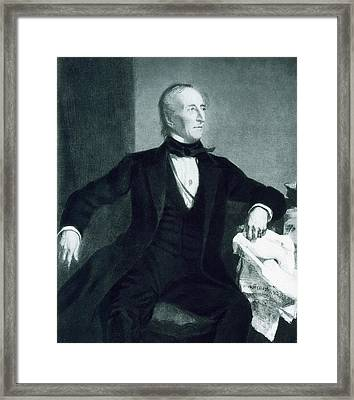 John Tyler Framed Print by George Healy