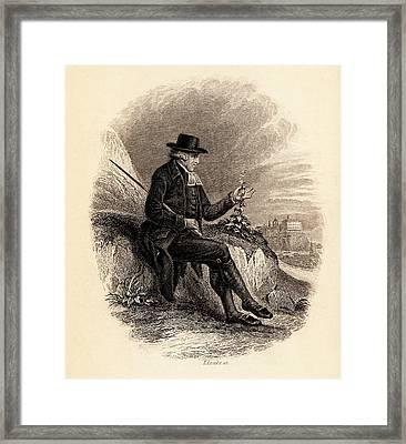 John Walker Framed Print