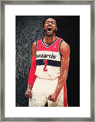 John Wall  Framed Print