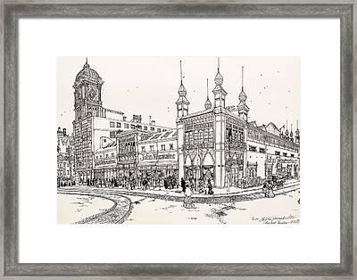 John Wanamaker's Grand Depot Framed Print by Ira Shander