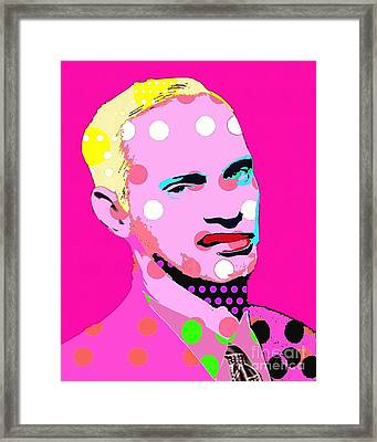 John Waters Framed Print by Ricky Sencion