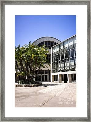 John Wayne Airport In Orange County California Framed Print by Paul Velgos