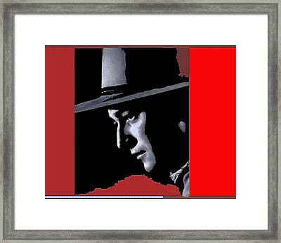 Framed Print featuring the photograph John Wayne As The Ringo Kid Stagecoach 1939-2013 by David Lee Guss