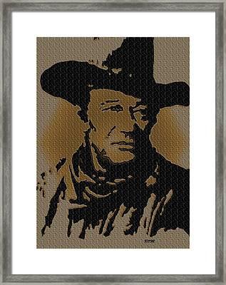 John Wayne Lives Framed Print