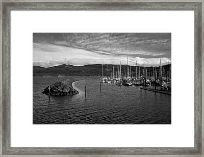 John Wayne Marina Framed Print by Kjirsten Collier