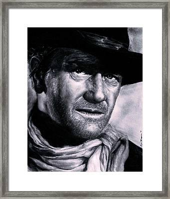 John Wayne Framed Print by Ryan Jacobson