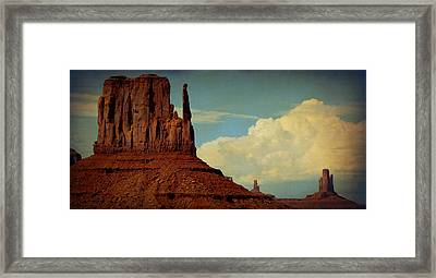 John Wayne Would Be Proud Framed Print by Terry Eve Tanner