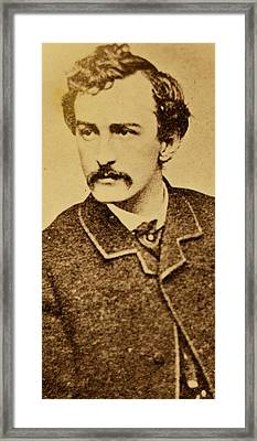 John Wilkes Booth Framed Print by Anonymous