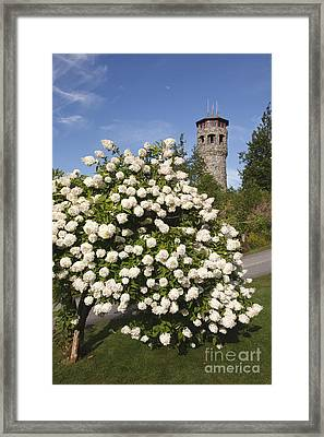 John Wingate Weeks Estate - Lancaster New Hampshire Framed Print by Erin Paul Donovan