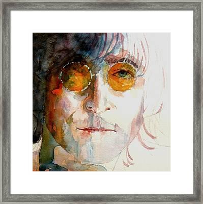 John Winston Lennon Framed Print