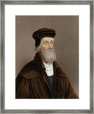 John Wycliffe Framed Print