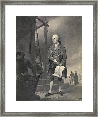 John Zephaniah Holwell Framed Print by British Library