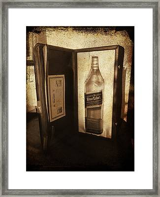 Johnnie Walker - Still Going Strong Framed Print