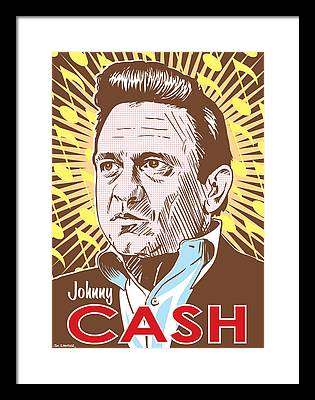 Johnny Cash Country Framed Prints