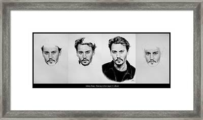 Johnny Depp 4 Framed Print