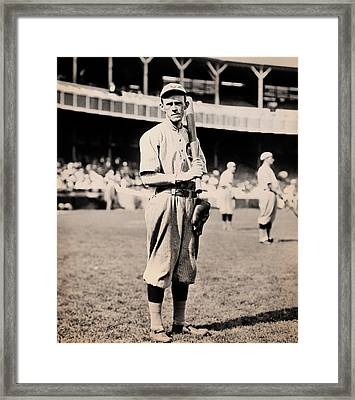 Johnny Evers 1910 Framed Print by Mountain Dreams