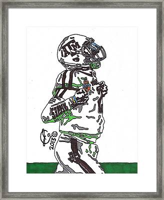 Johnny Manziel 4 Framed Print