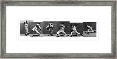 Johnny Podres, American Mlb Player Framed Print