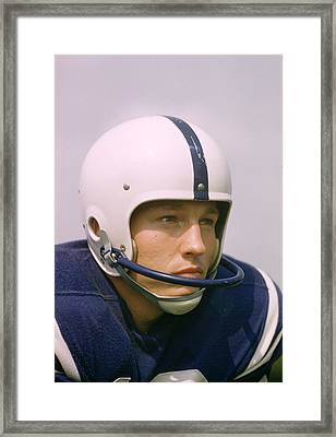Johnny Unitas  Framed Print