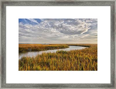 Johnson Creek Hdr 01 Framed Print