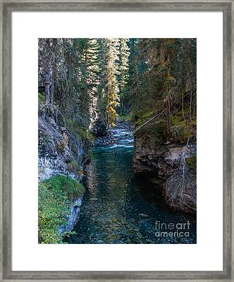 Johnson Falls Canada 2.0536  Framed Print by Stephen Parker
