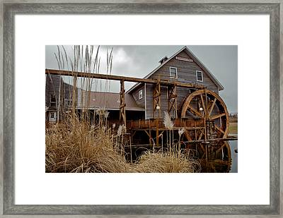 Johnson Mill - Fayetteville Arkansas Framed Print