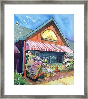 Johnson's Corner Farm Medford Nj Framed Print by Diane Wallace