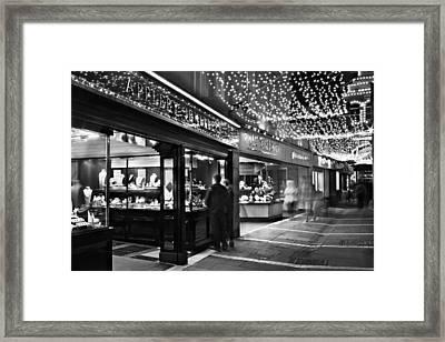 Framed Print featuring the photograph Johnson's Court / Dublin by Barry O Carroll